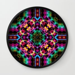 Modern Colorful Abstract Pattern SB86 Wall Clock