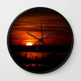 Sunset 3.0 Wall Clock