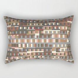 Beethoven Moonlight Sonata (Coffee Colours) Rectangular Pillow