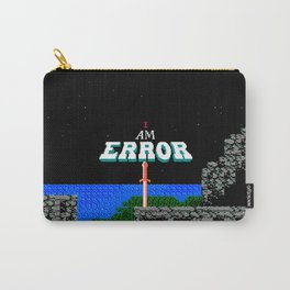 Adventures of Link - I Am Error Carry-All Pouch