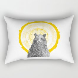 Ring Bearer - Gold Rectangular Pillow