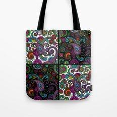 Paisley Panels Tote Bag