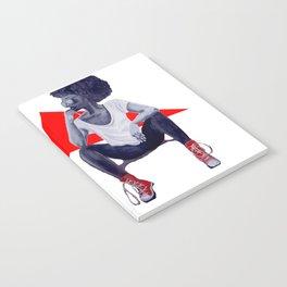 Red Kicks Notebook