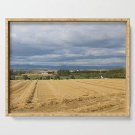 Scottish Countryside Serving Tray