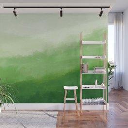 Abur on Green Wall Mural