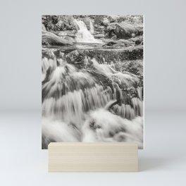 The waterfalls land Mini Art Print
