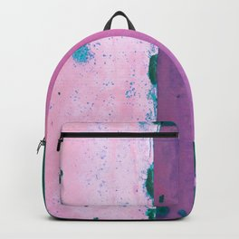 Rusted Tiers Purple and Forest Green Backpack