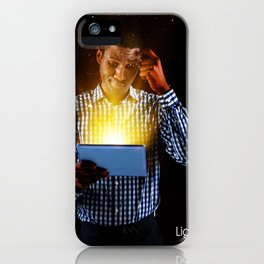 Lightup Thinking iPhone Case