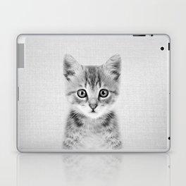 Kitten - Black & White Laptop & iPad Skin