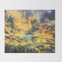 Remembering Baguio's 182 Pine Trees Throw Blanket