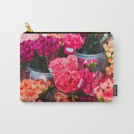 All The Carnations Carry-All Pouch