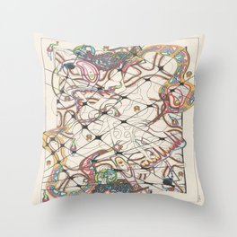 Dissection Point Throw Pillow