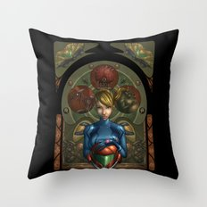 My Past is not a Memory Throw Pillow