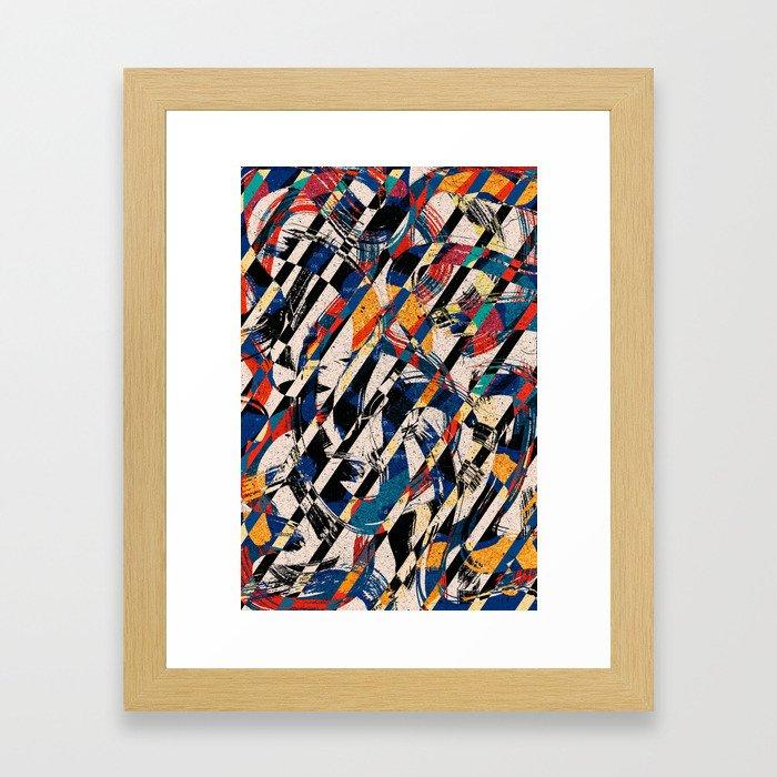 Pattern № 88 Framed Art Print