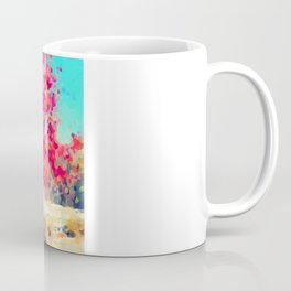 Orange Tree Watercolor  Coffee Mug