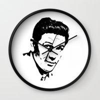 garfield Wall Clocks featuring John Garfield Is Class by Stars Live Forever