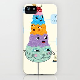 I SCREAM, YOU SCREAM, WE ALL SCREAM FOR ICE CREAM iPhone Case