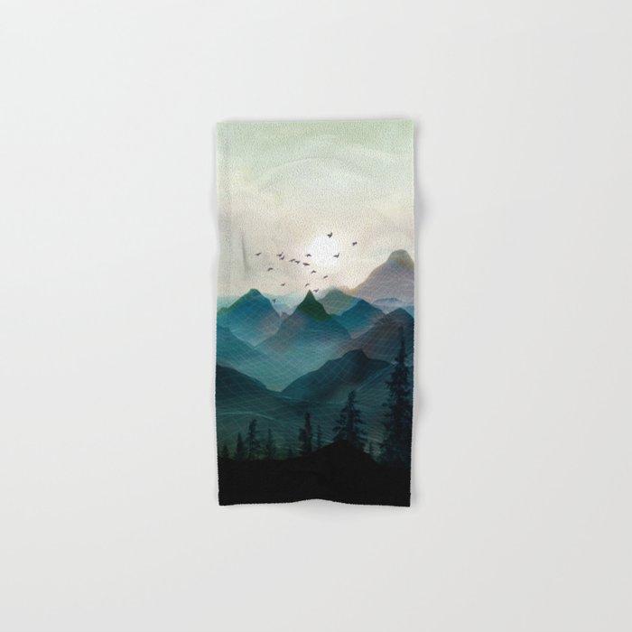 Mountain Sunrise II Hand & Bath Towel