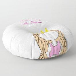 Dream Big Little Princess Floor Pillow