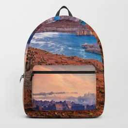 USA Glen Canyon Chelly state park Nature mountain Lake Parks Scenery Mountains landscape photography Backpack