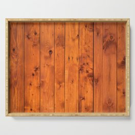 Vintage Wooden Boards Effect. Serving Tray