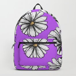 Please Don't Eat the Daisies Violet Backpack
