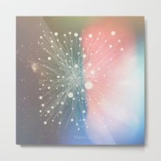 Connected Stars Metal Print