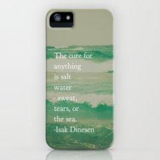 Salt Water Cure iPhone (5, 5s) Slim Case