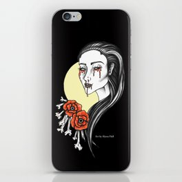 Beauty in the Black.  iPhone Skin