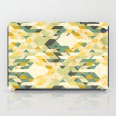 des-integrated tartan pattern iPad Case