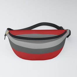 Abstract Grey Lines Fanny Pack