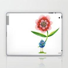 Red Wonder Flower Laptop & iPad Skin