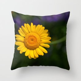 Yellow Daisy 4217 Throw Pillow