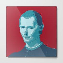 Niccolo Machiavelli Metal Print