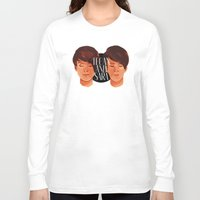 tegan and sara Long Sleeve T-shirts featuring Tegan and Sara by Cas.