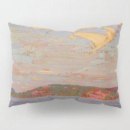 Tom Thomson View over a Lake, Autumn 1916 Canadian Landscape Artist Pillow Sham