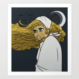 Moon Moon Art Print