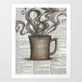 Cupfull of Happy Art Print