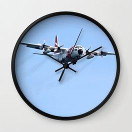 Coast Guard C130 Photography Print Wall Clock