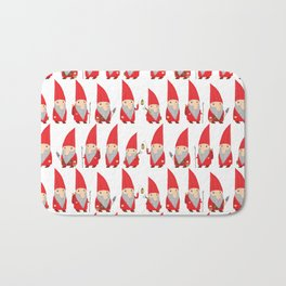 Gnome Pattern Bath Mat