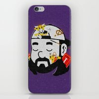 kevin russ iPhone & iPod Skins featuring Kevin by Derek Eads