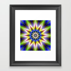Time Star Framed Art Print