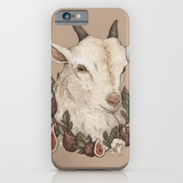 Goat and Figs iPhone Case
