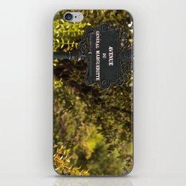 Paris Avenue iPhone Skin