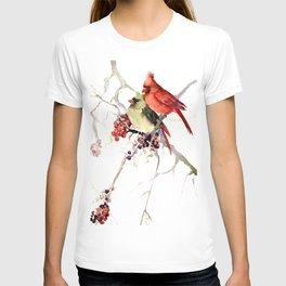 Caridnal Birds T-shirt