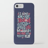 fandom iPhone & iPod Cases featuring Fandom Life by Risa Rodil