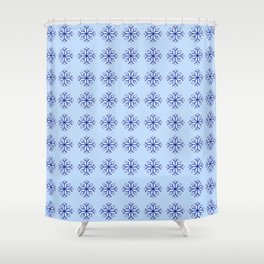 snowflake 8 For Christmas ! Shower Curtain