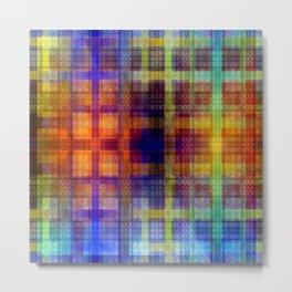 Pattern multicolored 27 Metal Print