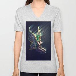 Butterfly Princess Unisex V-Neck