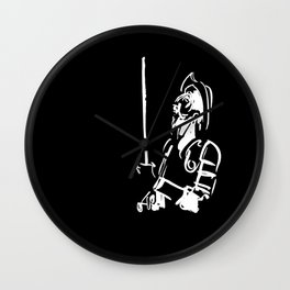 Don Quixote - White Variant Wall Clock